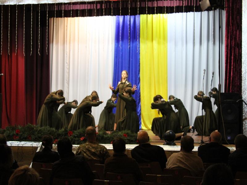 Святковий концерт з нагоди Дня пам`яті та примирення і 76-ї річниці Перемоги над нацизмом у Другій світовій війні.
